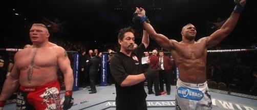 Holandês fez seu último combate quando superou Brock Lesnar. (Foto: reprodução)