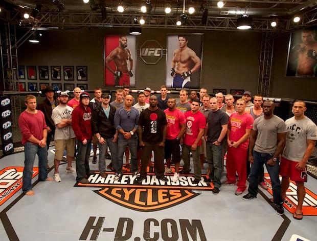 Os lutadores do TUF 17. (Foto: Divulgação/UFC)