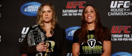 Ronda Rousey e Liz Carmouche