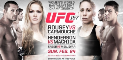 Duelo feminino no UFC 157 será o 1º da história na franquia.