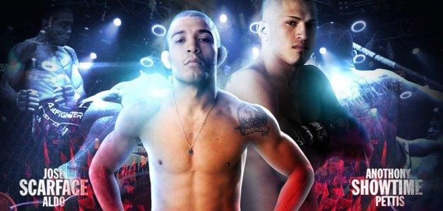 Agora é oficial. Aldo encara Pettis em agosto. (Imagem: Bring the UFC to New Zealand)