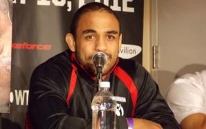 Rafael Feijão quer enfrentar Ryan Bader.