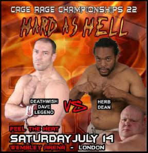 Dave Legeno vs Herb Dean