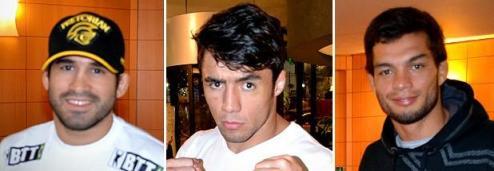 Pedro Nobre, Diego Nunes e Miltinho Vieira foram demitidos pelo UFC