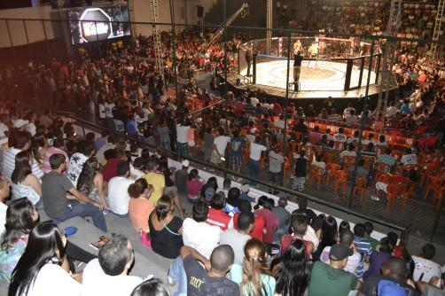 Ginásio Oyama Pinto (Foto: Franklin Dórea / Tv Geral)