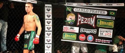 Prater em ação pelo Fight Now, em Maceió. (foto: Diogo Rocha/NewsMMA)