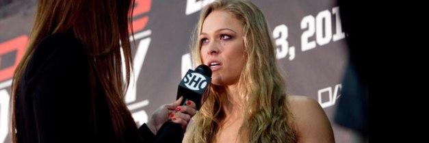 Rousey é contra uma futura ida de Cyborg ao UFC.