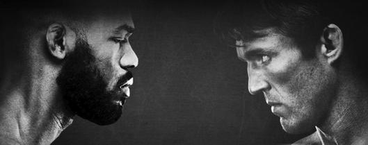 Jones e Sonnen fazem o duelo principal no UFC 159.