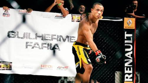 Guilherme Faria é mais uma revelação do MMA brasileiro. (Foto: Mayara Pernetti)
