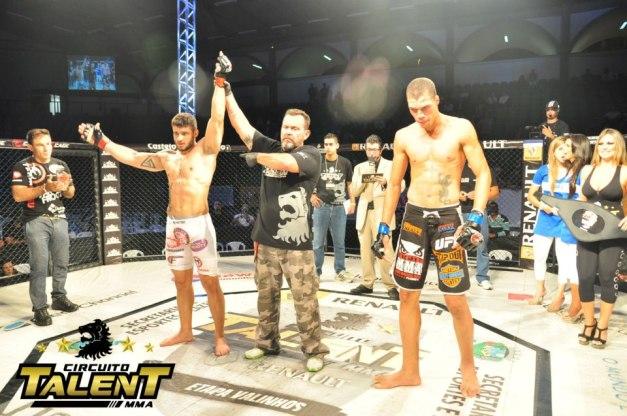 Rick Mosntro venceu o duelo principal do evento. (foto: Org. Talent)