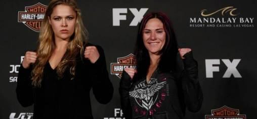 Ronda Rousey e Cat Zingano serão as treinadoras da próxima edição do TUF. Foto (reprodução)