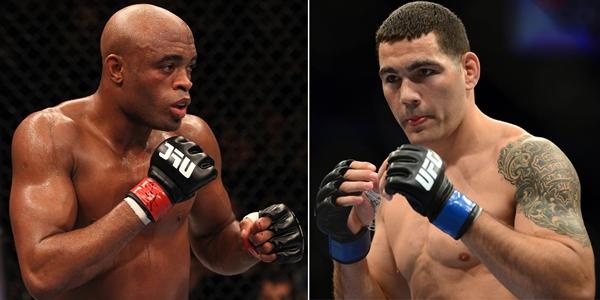 Anderson Silva e Chris Weidman (foto: reprodução)