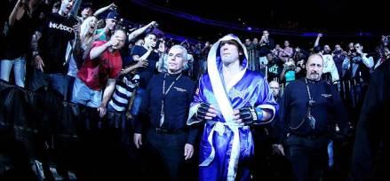 Entrada de Chael Sonnen, no UFC 159. (Foto: UFC.com/Zuffa)