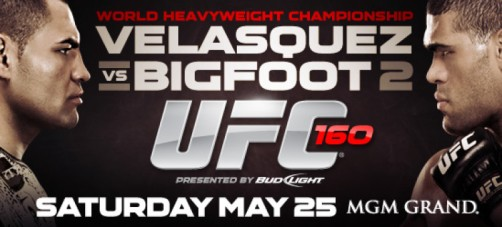 UFC 160: UFC 160: Velasquez vs. Bigfoot II